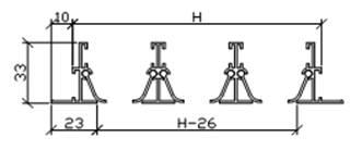 Схема лінійного дифузора